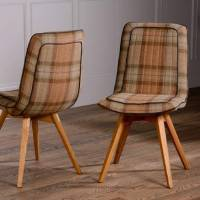 piped dining chair choice of tweed or wool by the orchard ...