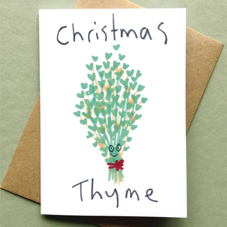 Christmas Card Packs Food Pun Fun By Jo Clark Design