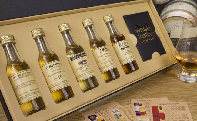 Single Malt Whisky Gift Set By Whisky Tasting Company