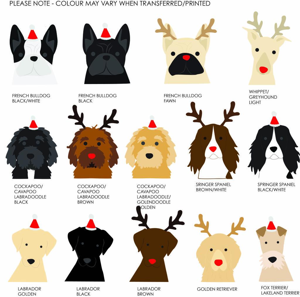 Black And Brown Dachshund Christmas