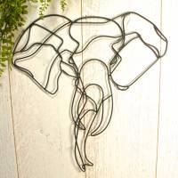 elephant wire wall art by london garden trading ...