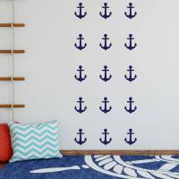 anchor decorative wall stickers by nutmeg ...