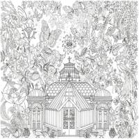 garden glasshouse colouring in poster by really giant ...