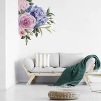 corner floral wall sticker by oakdene designs ...