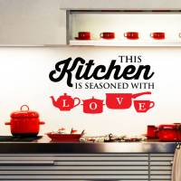 kitchen wall stickers by wall art quotes & designs by ...