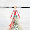 Christmas Forest Large Tree Topper Angel By Red Berry