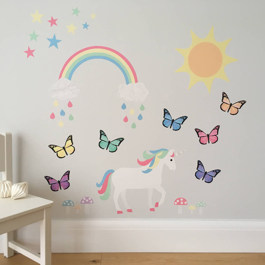 Magical Woodland Wall Sticker Set By Chameleon And Co