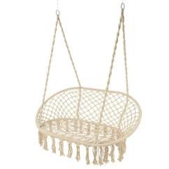 Hanging Chair Notonthehighstreet Acapulco Replica Black Macrame Double Garden Seat By Ella James