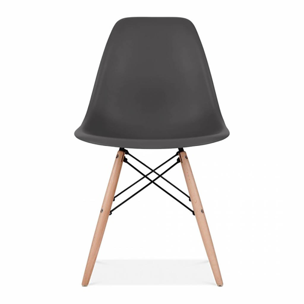 eames style dining chair set six by ciel