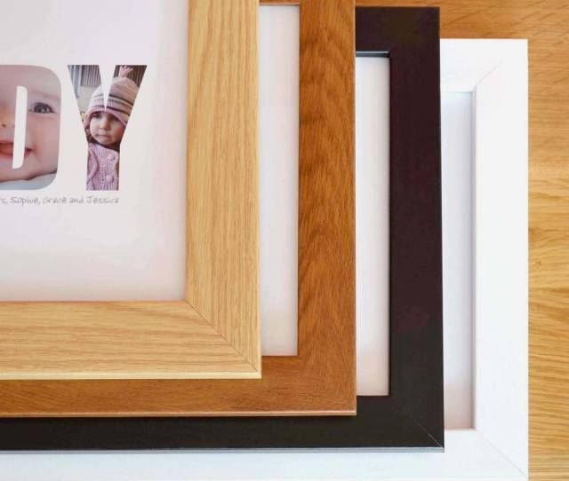A4 Quality Wooden Frame