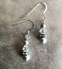 pearl bracelet and earring jewellery gift set by modiste ...