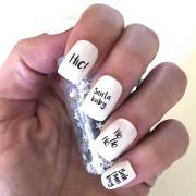 christmas nail transfers slogans