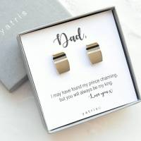 father of the bride cufflink gift set by yatris ...