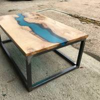 resin river coffee table by revive joinery ...
