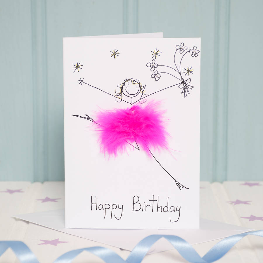 Handmade Personalised Happy Birthday Card By All Things