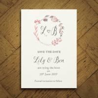 summer meadow wedding invitation set by feel good wedding ...