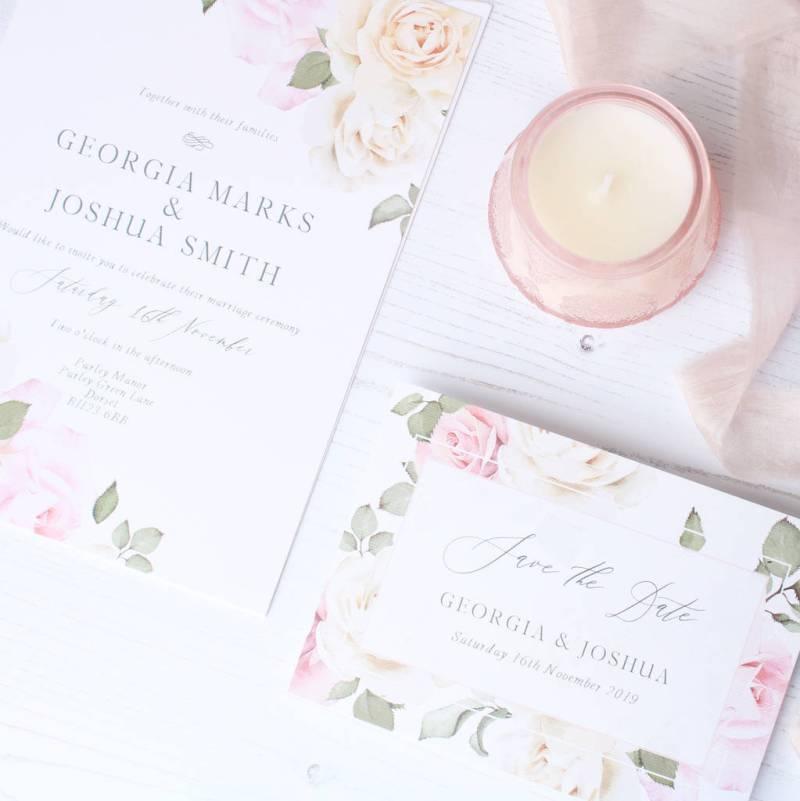 Secret Garden Wedding Invitation Sample Pack By The Bridal Paperie