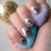 penguin nail art transfers hoobynoo