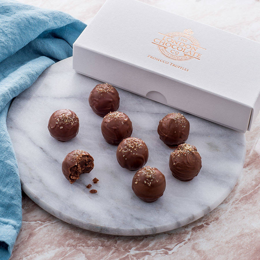 Prosecco Truffles By The London Chocolate Company