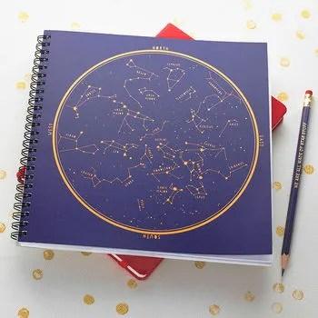 Map Of Star Constellations Jotter Pad And Pencil cheap gift ideas for teen girls