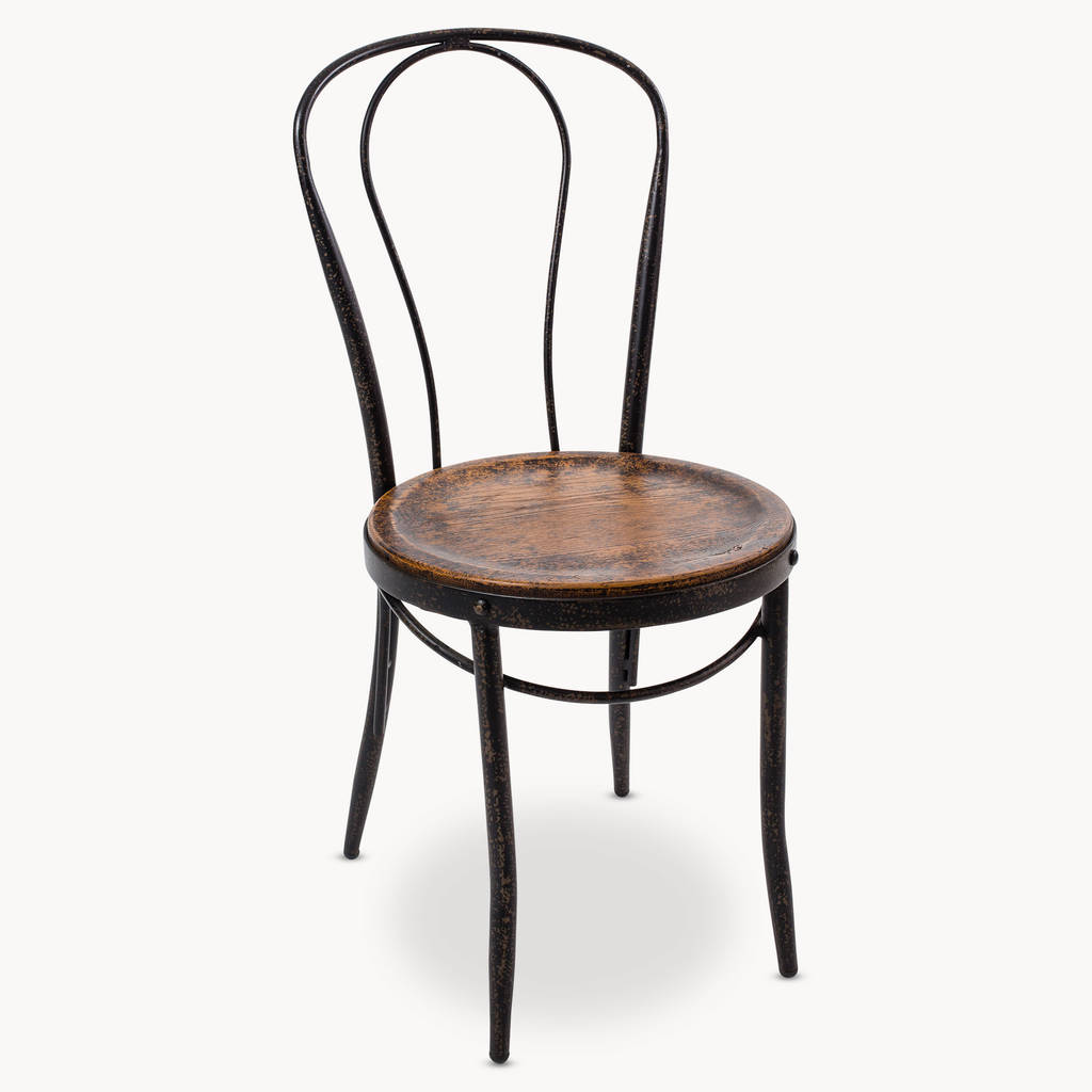 woodcroft metal bistro chair by oneworld