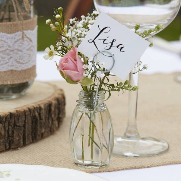 Wedding Place Card Holders for Table