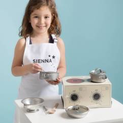 Childrens Toy Kitchen Chandeliers Children S And Personalised Apron By Twenty Seven