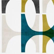 Abstract Geometric Wall Art Print Bronagh Kennedy