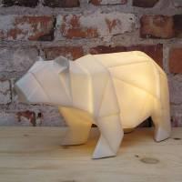 white nordic polar bear penguin lamp by little baby ...