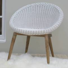 Metal Tub Chair Beds Cheap White Woven By Ella James Notonthehighstreet