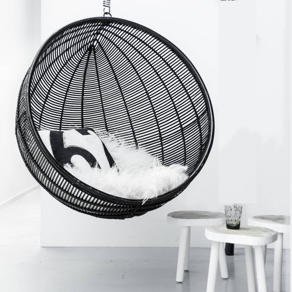 hanging chair notonthehighstreet high portable bali ball rattan inside outside living by