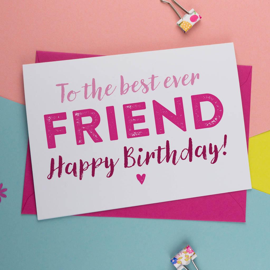 Birth Day Cards Best Friend