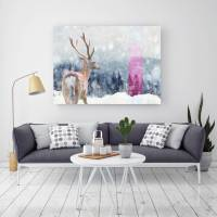 scandinavian love, canvas art by palm valley ...