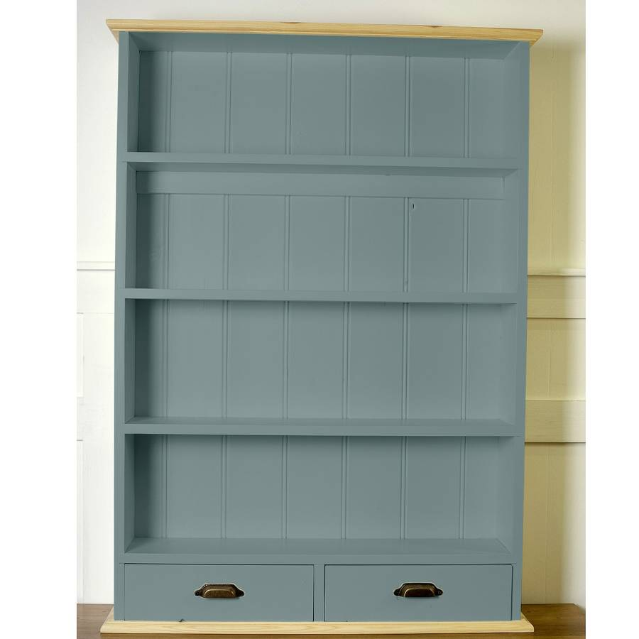 old english painted kitchen wall unit by the orchard