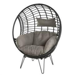 Hanging Chair Notonthehighstreet Office With Massage Black Rattan Indoor Outdoor By Ella James