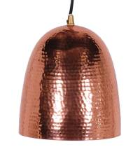 hammered copper pendant light by the forest & co ...