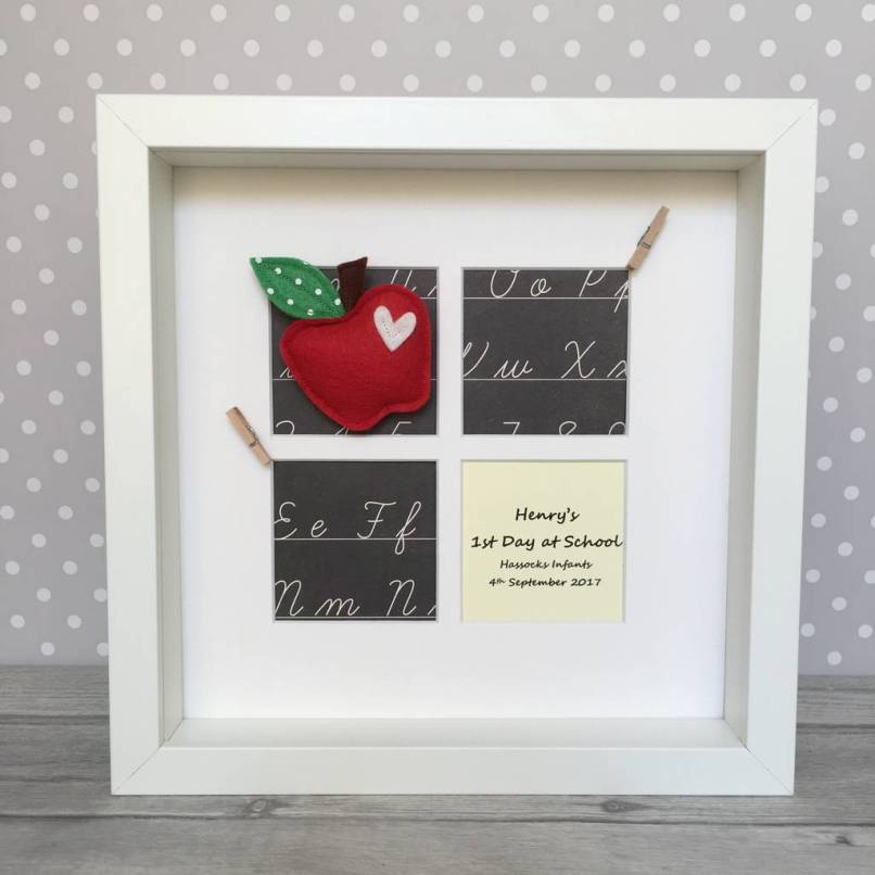 Personalised First Day At School Photo Frame | Frameswalls.org