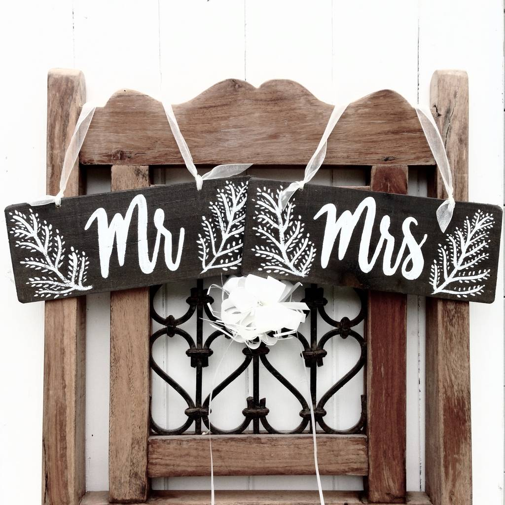 hanging chair notonthehighstreet ergo posture woodland wedding style signs by potting shed designs   notonthehighstreet.com