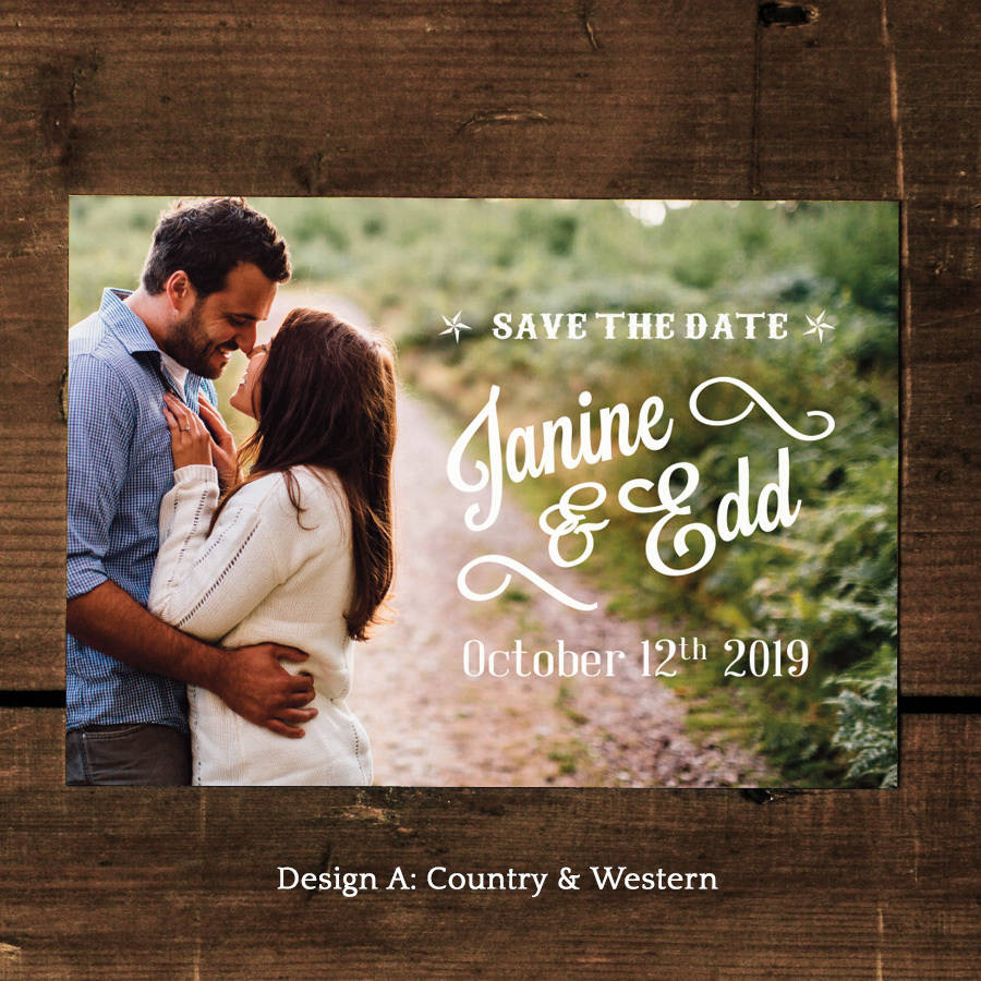Cheap Western Wedding Invitations