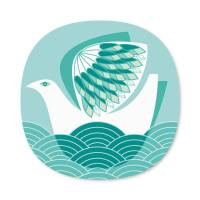 bird design placemats and coasters by beyond the fridge ...