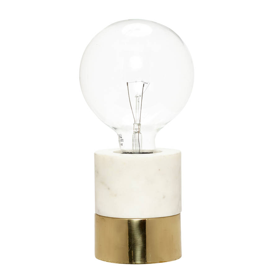edison bulb table lamp by peastyle