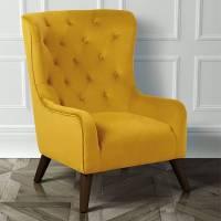 classic velvet button back armchair by i love retro ...