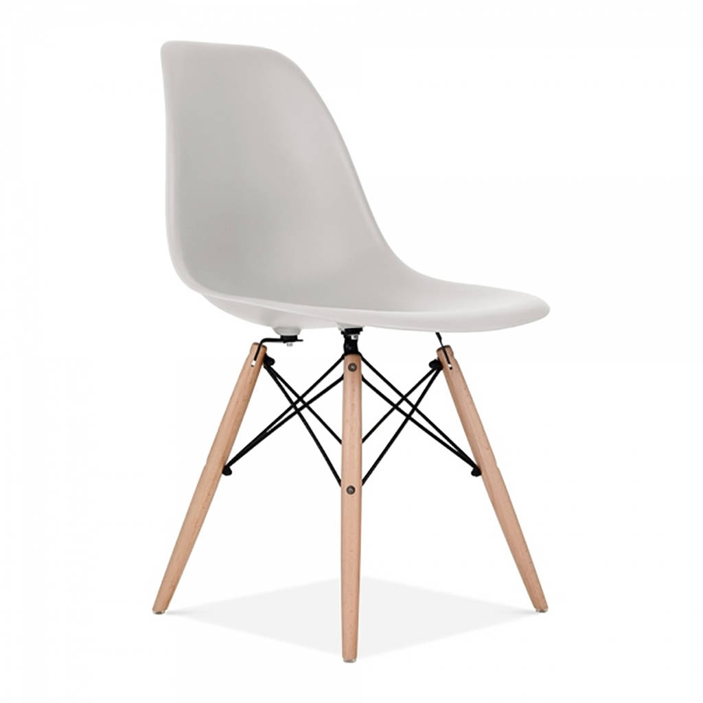 eames dining chair office with arms style set six by ciel