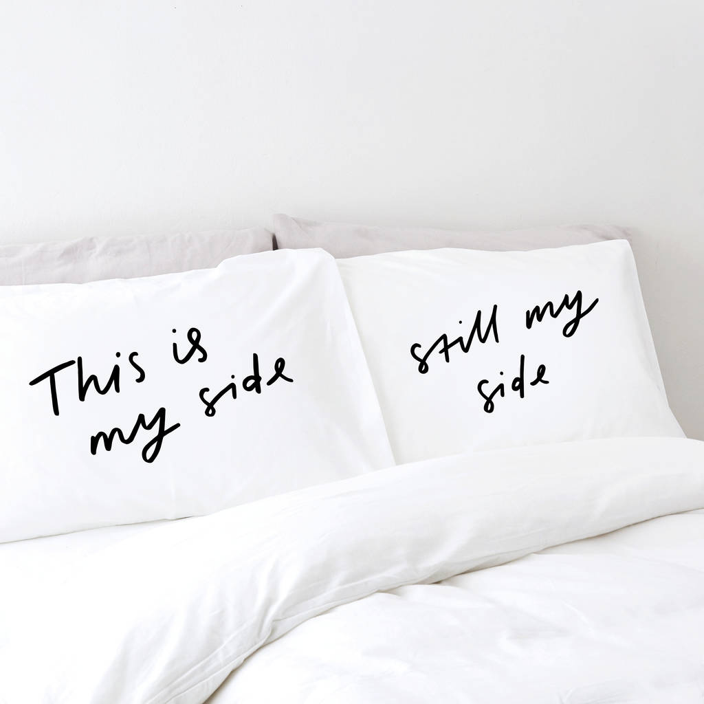 My-pillow-factory My Side Pillow Cases By Old English Company