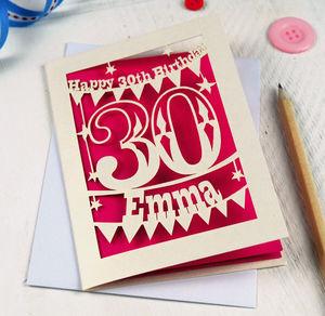 Personalised Birthday Cards