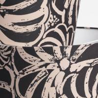 hand printed cotton satin printed lampshades pumpkin by