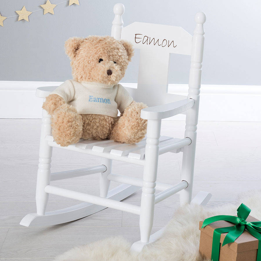 personalized rocking chair for toddlers ford explorer with second row captain chairs personalised child s by my 1st years