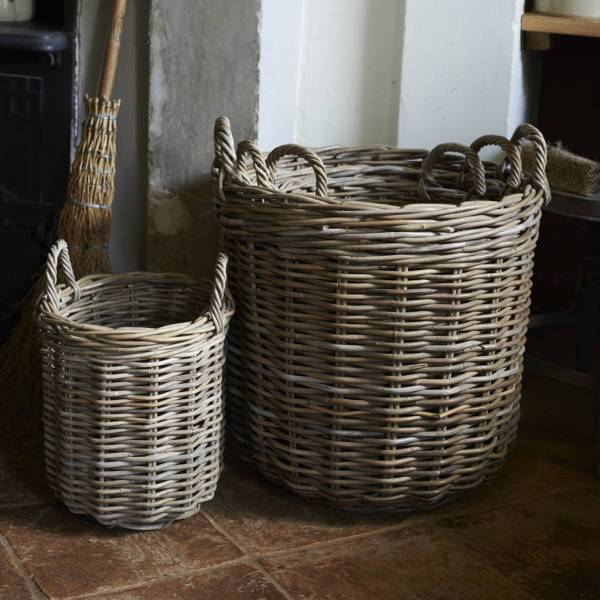 set of four baskets by brush64 | notonthehighstreet.com