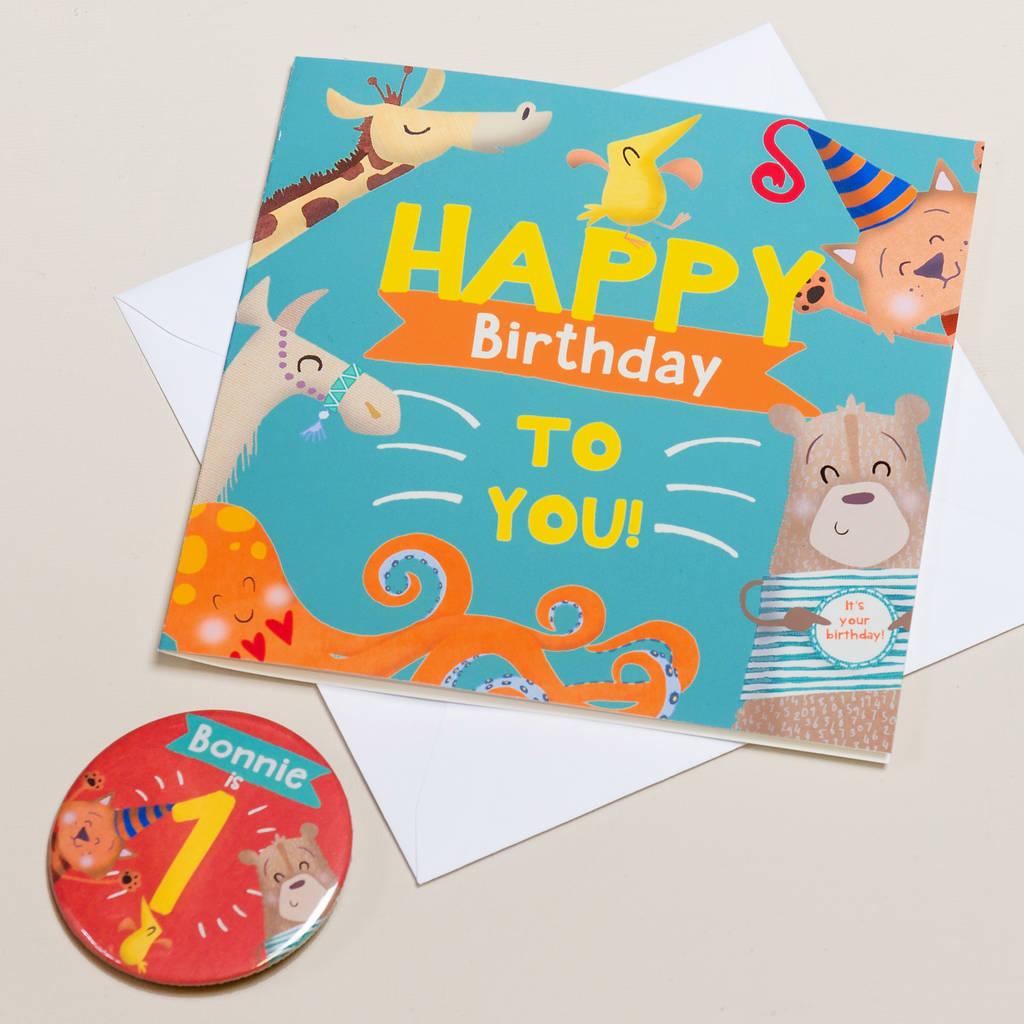 personalised one st birthday