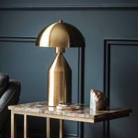 gold dome lamp by the forest & co | notonthehighstreet.com